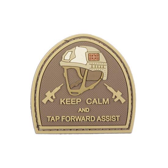 Keep Calm felvarró