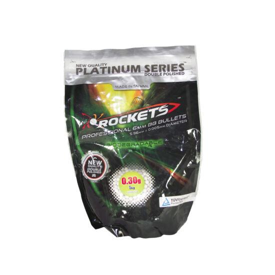 Rockets Platinum preciziós BB golyó 0.30 g, BIO 3300 db.
