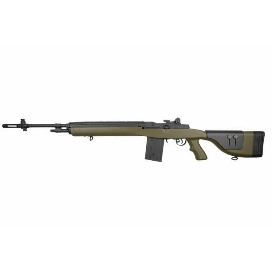 Cyma CM032D, M14 elektromos airsoft puska Olive