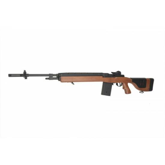 Cyma CM032D, M14 elektromos airsoft puska Fa hatás