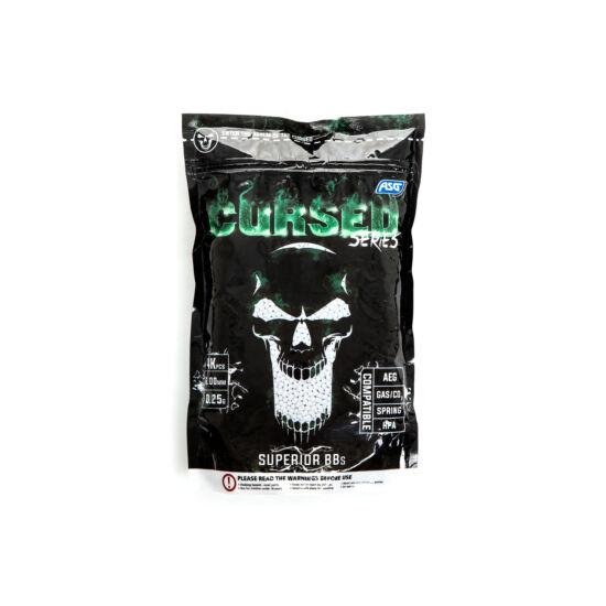 CURSED Series airsoft BB, 0.25g, 4000 db