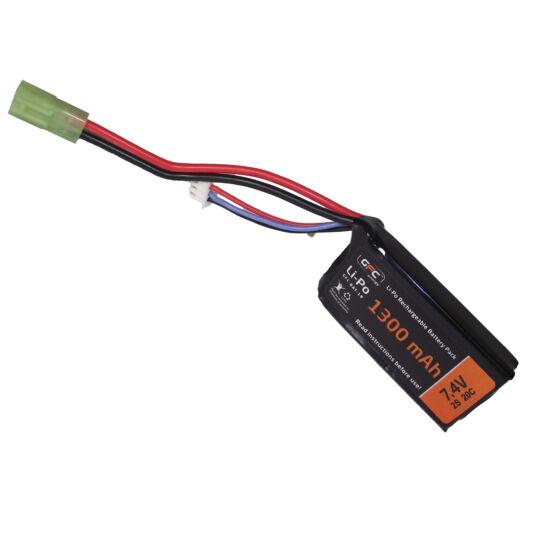 GFC LiPo, akkumulátor 7.4V 1300mAh kis Tamiya