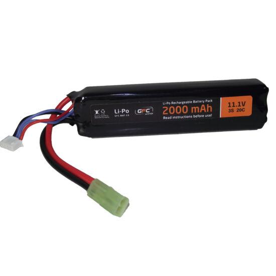 GFC LiPo akkumulátor, 11,1V 2000mAh