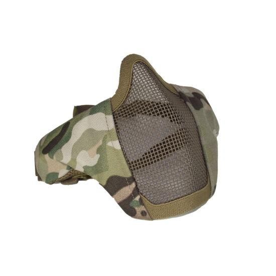 Stalker EVO rácsos arcmaszk, Multicam