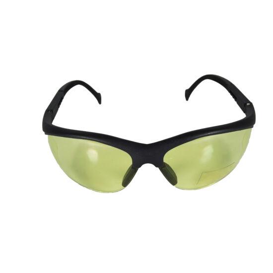G&G védőszemüveg, fekete keret, sárga lencse