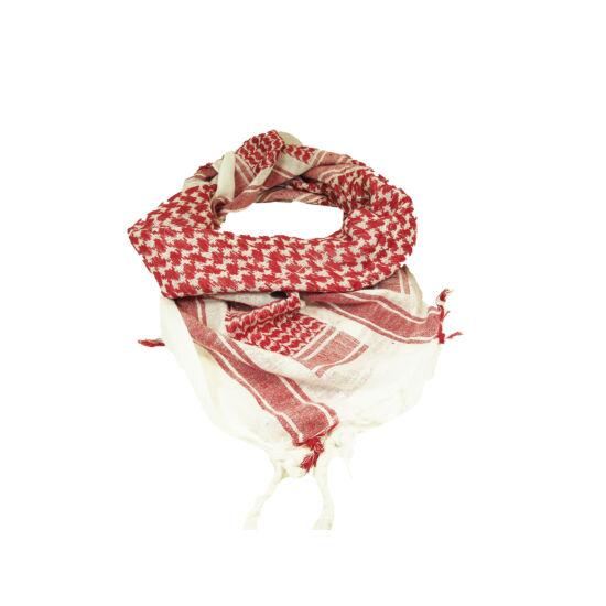 Miltec sál-Shemagh, piros-fehér
