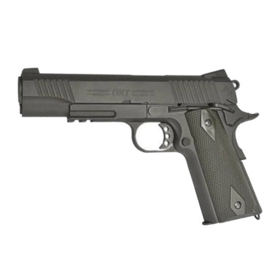 Colt 1911 Rail gun, CO2, Black Matt fekete