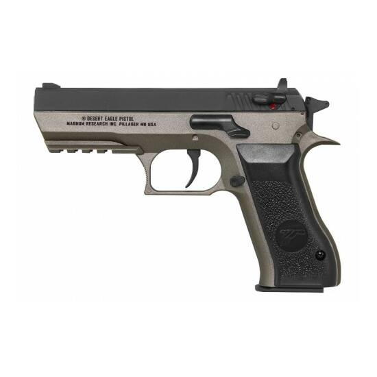 Baby Desert Eagle Dual Tone Silver airsoft pisztoly (CO2)