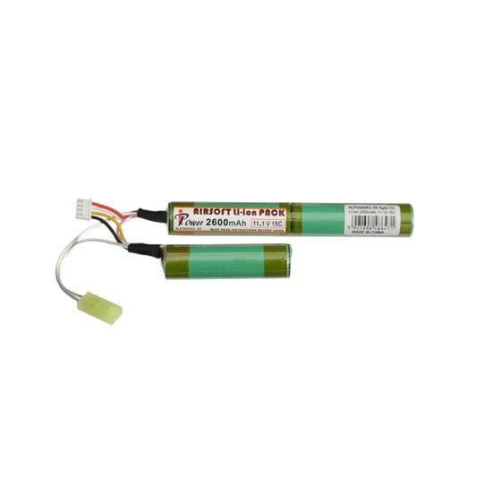 IPower airsoft akkumulátor, Li-Ion, 2600 mAh, 11,1V