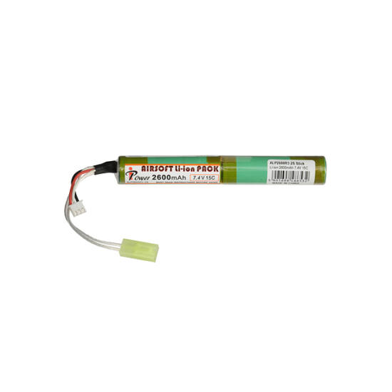 IPower airsoft akkumulátor, Li-Ion, 2600 mAh, 7,4V