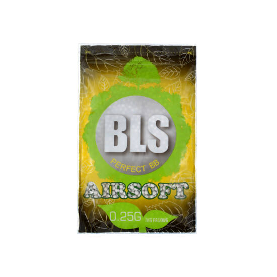 BLS precíziós BB golyó, 0.25g, 1 kg. BIO