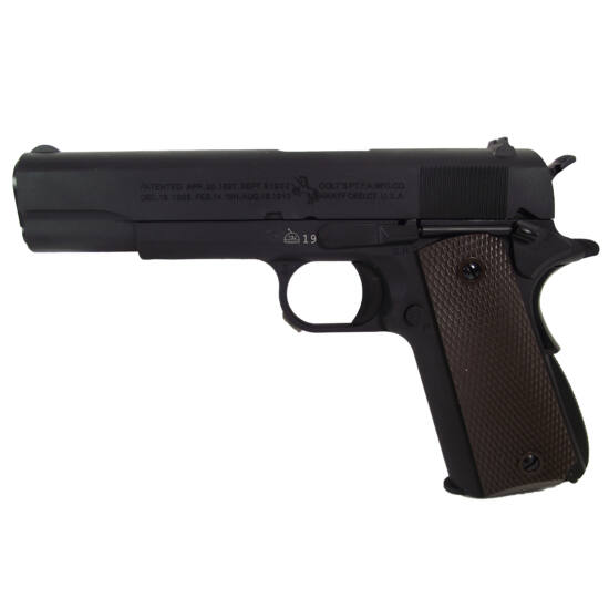 Colt 1911, GBB airsoft pisztoly, fekete (CO2)
