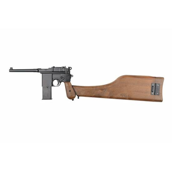 WE 712 MauserC96 airsoft pisztoly (GBB)