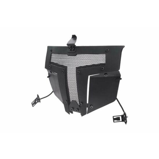 Fast Sisakra erősíthető védőmaszk, Fekete