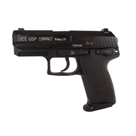 H&K USP Compact airsoft GBB pisztoly (green gas)