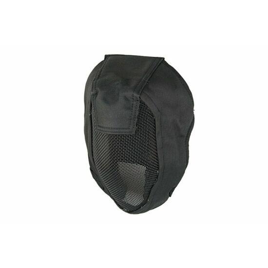 Ventus rácsos balclava maszk, fekete