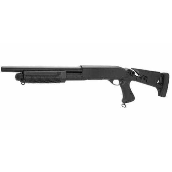 Swiss Arms M870 Shotgun, kihúzható tussal, fém
