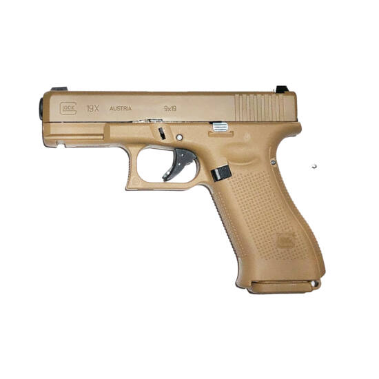 VFC Glock 19X Gen5. Coyote GBB airsoft pisztoly