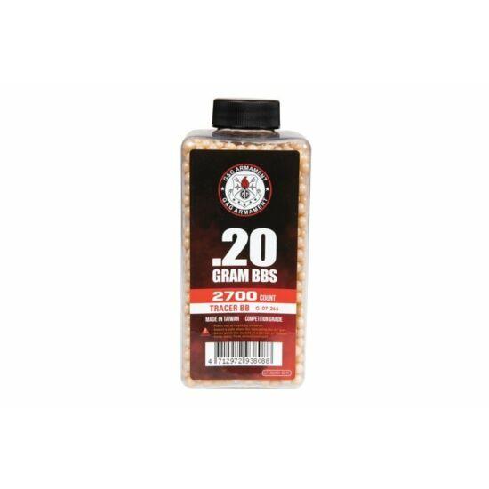 G&G preciziós Tracer BB 0.20 g 2700 db Vörös