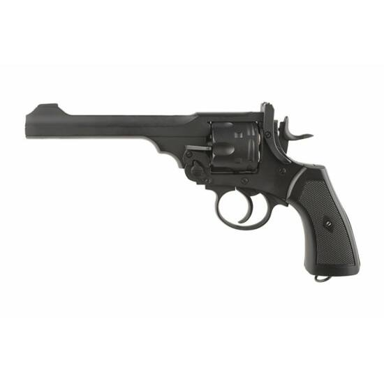 Well Webley airsoft revolver CO2