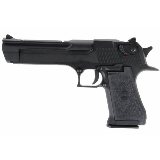 KWC Desert Eagle GBB CO2 airsoft pisztoly fekete