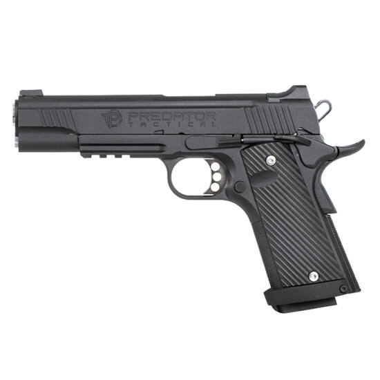 King Arms Predator Tactical Iron Shrike 1911 fekete GBB