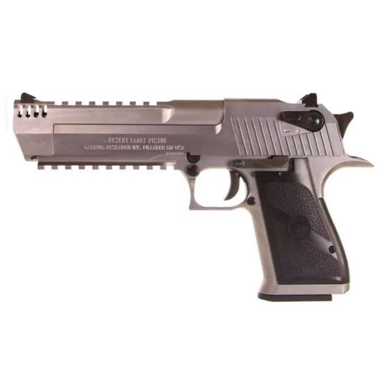 Desert Eagle L6 GBB airsoft pisztoly, full metal, silver