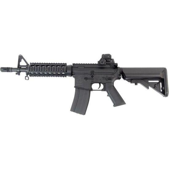 Colt M4 CQB elektromos airsoft rohampuska fekete