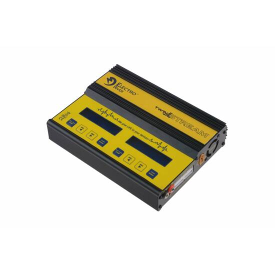 Twin Stream mikroprocesszoros akkumulátor töltő