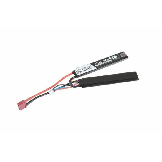 Specna Arms LiPo akkumulátor 7.4 1200 mAh T-Deans