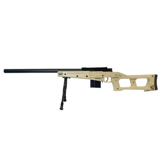 Swiss Arms SAS08 Tan airsoft mesterlövész puska