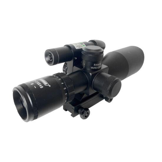 Kandar 2.5-10x40 E céltávcső lézeres célmegjelölővel