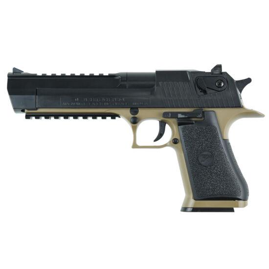 Desert Eagle .50AE Tan/black rugós airsoft pisztoly