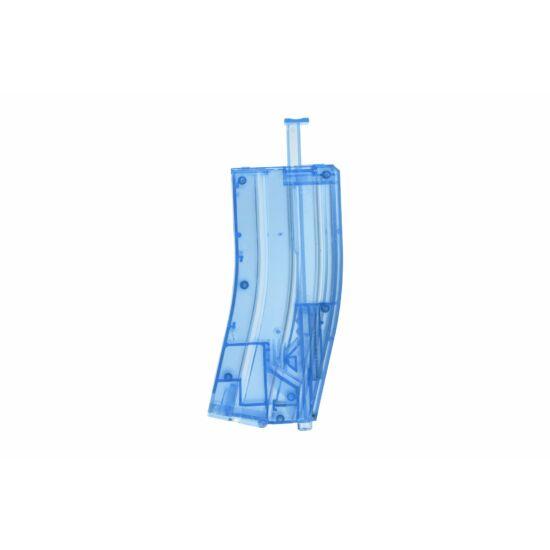 Airsoft gyorstöltő, M4 tár alakú, kék