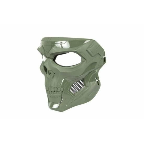 Skull Messenger védőmaszk, Olive Drab
