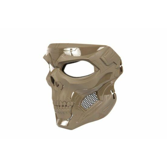 Skull Messenger védőmaszk, Tan