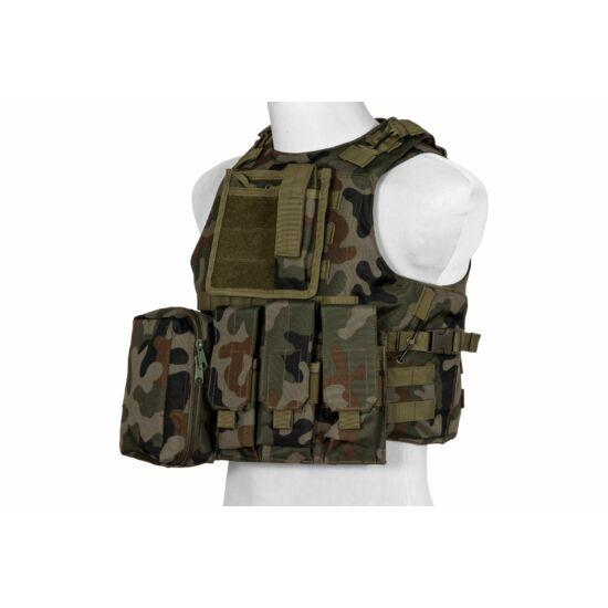 Taktikai mellény, FSBE, Woodland Panther