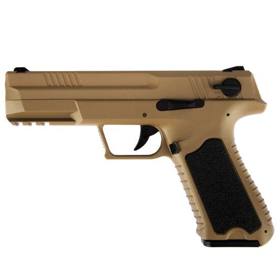 Cyma CM127 elektromos airsoft pisztoly Tan