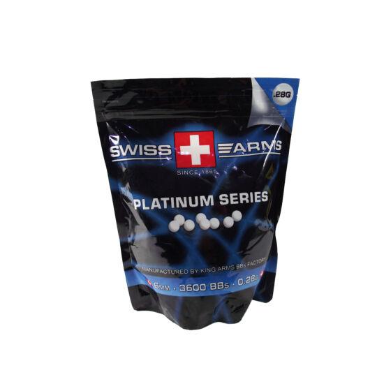 Swiss Arms Platinum preciziós BB golyó 0.28 g, 4000 db.