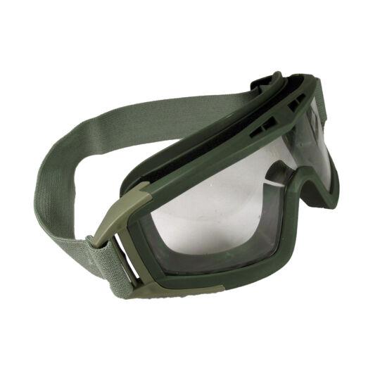 GFC pántos védőszemüveg sisakhoz, OD víztiszta
