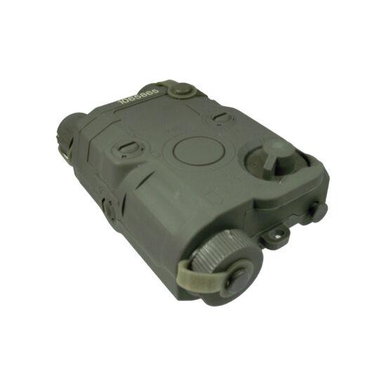 FMA AN/PEQ 15 akkumulátor tartó, oliva