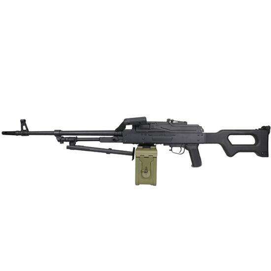A&K PKM airsoft elektromos géppuska acél/polimer