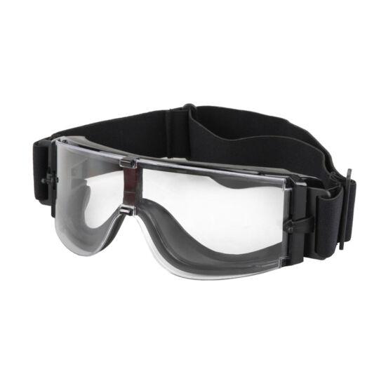 X800 védőszemüveg, fekete