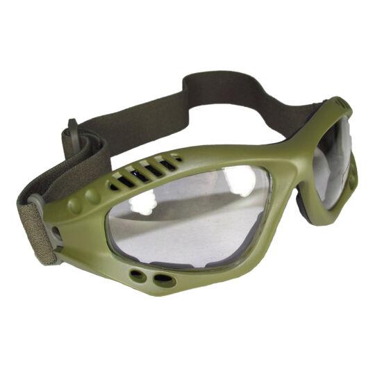 Mil-tec Védőszemüveg OD keret víztiszta lencse