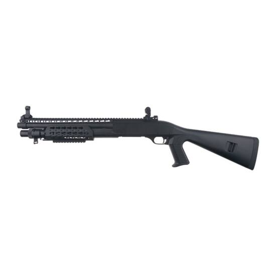 Velites S-XI Secutor airsoft shotgun, fekete