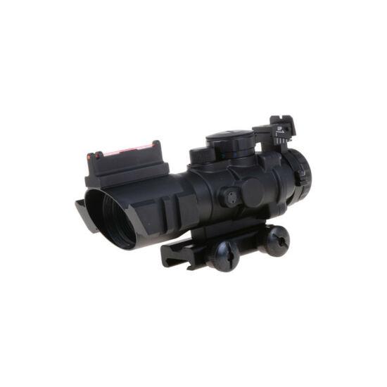 Theta Optics Rhino 4x32 céltávcső nyílt irányzékokkal