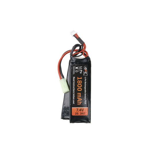 GFC LiPo akkumulátor, LiPo, 7.4V 1800mAh, 20/40C, 2modul