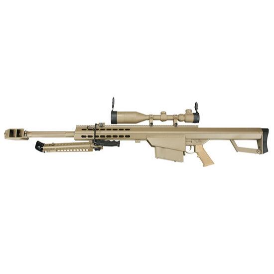 Snow Wolf SW-02A M82 Barrett Short elektromos airsoft mesterlövész puska tan