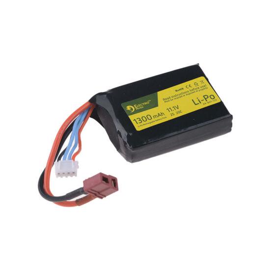 Electro River LiPo akkumulátor 11.1V 1300 mAh PEQ-dobozba T-Deans