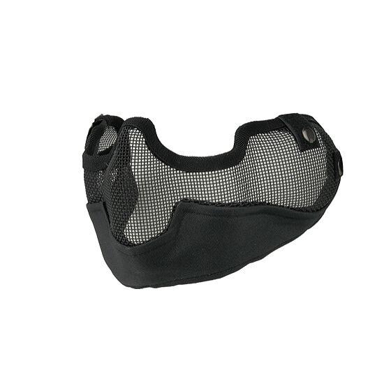 Arcvédő félmaszk, rácsos Starker V3- fekete